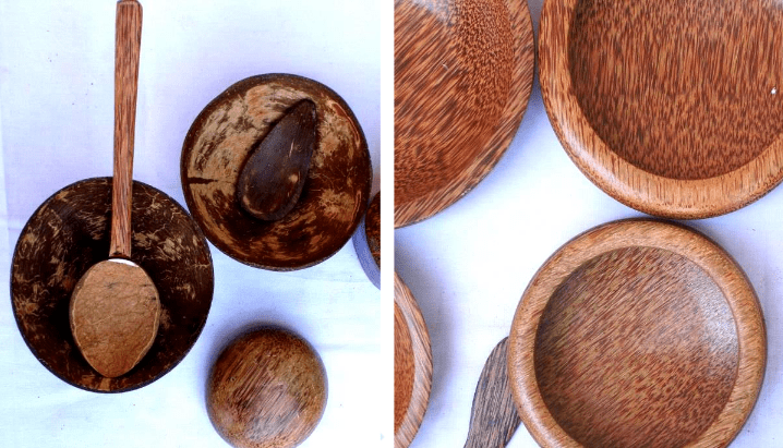 Coconut craft swadesi made in india for What are shells made of