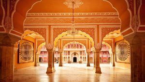 Interiors of Hawa Mahal. Source:Internet
