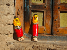 Wooden dolls of Burdwan