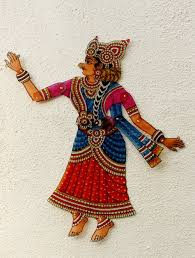 andhra painted leather puppets