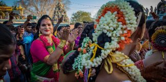 The festivities in Koovagam