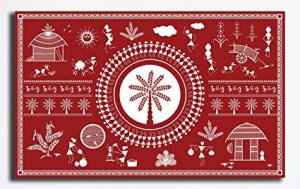 The style of Warli painting was not recognised until the 1970s